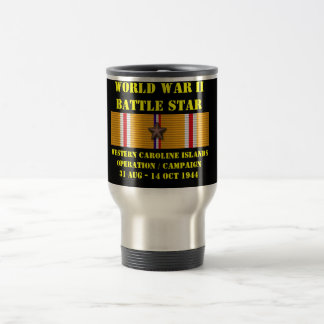 Western Caroline Islands Operation Campaign Stainless Steel Travel Mug