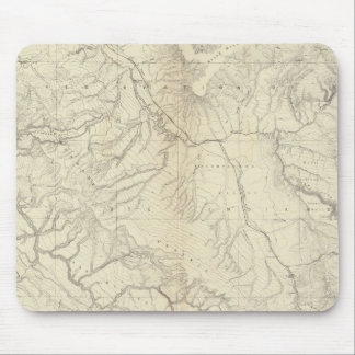 Western Colorado and Part of Utah Mouse Pads