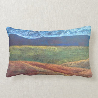 Western Colorado Landscape Lumbar Cushion