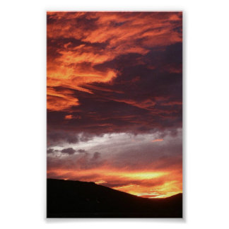 Western Colorado Sunset Poster