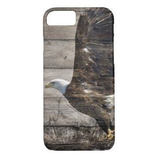 Western Country Patriotic USA American Bald Eagle iPhone 8/7 Case