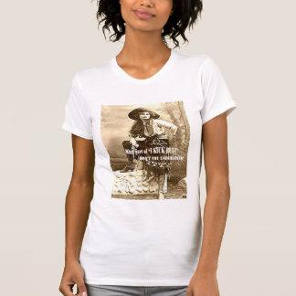 "Western Cowgirl ""I KICK BUTT"" Ladies T Shirt"