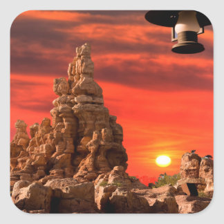 Western Desert Stickers