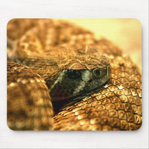 Western Diamondback Rattle Snake Mousepad
