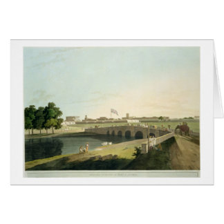 Western Entrance of Fort St. George, Madras, plate Card