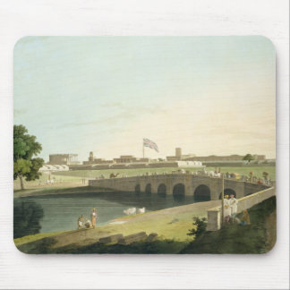 Western Entrance of Fort St. George, Madras, plate Mouse Pad