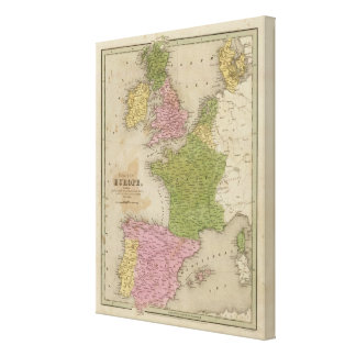 Western Europe Canvas Print