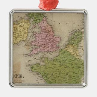 Western Europe Christmas Ornament