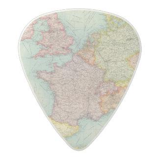 Western Europe communications Acetal Guitar Pick