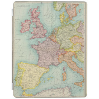 Western Europe communications iPad Cover
