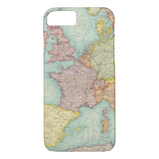 Western Europe communications iPhone 8/7 Case