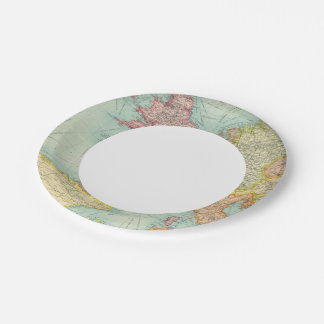 Western Europe communications Paper Plate