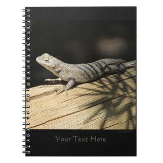 Western Fence Lizard Spiral Notebook 2