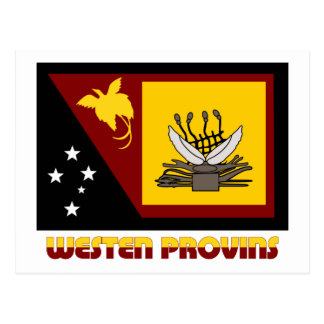 Western (Fly River)  Province, PNG Postcard