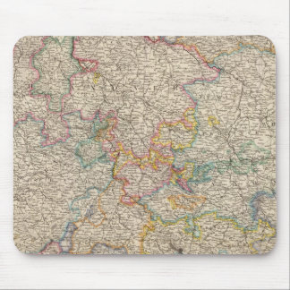 Western Germany Mouse Mat