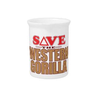 Western Gorilla Save Pitcher