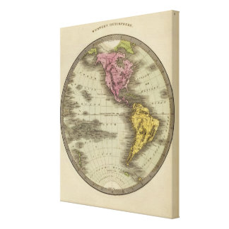 Western Hemisphere 10 Canvas Print