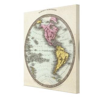 Western Hemisphere 11 Canvas Print