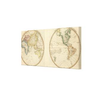 Western Hemisphere 12 Canvas Print