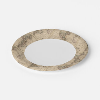 Western Hemisphere 12 Paper Plate