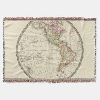 Western Hemisphere 13 Throw Blanket