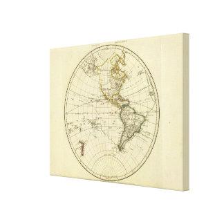 Western Hemisphere 14 Canvas Print