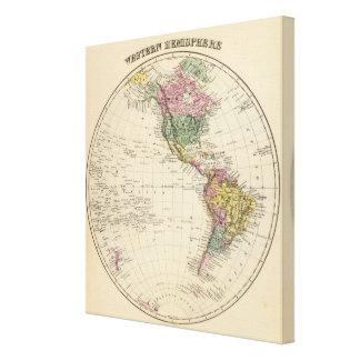 Western Hemisphere 15 Canvas Print