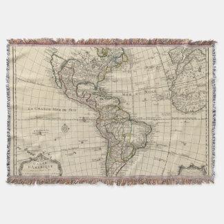 Western Hemisphere 2 2 Throw Blanket