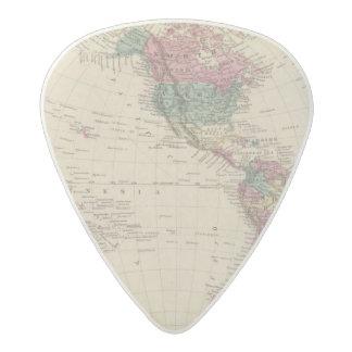 Western Hemisphere 2 Acetal Guitar Pick