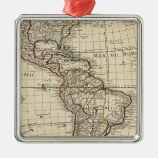 Western Hemisphere 2 Christmas Ornament