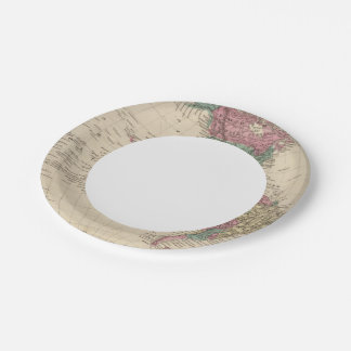 Western Hemisphere 2 Paper Plate