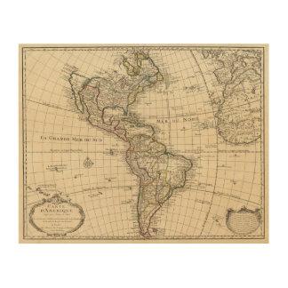 Western Hemisphere 2 Wood Print