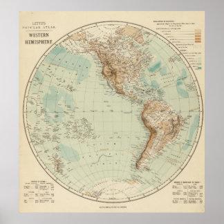 Western Hemisphere 3 Poster