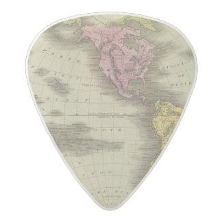 Western Hemisphere 4 Acetal Guitar Pick