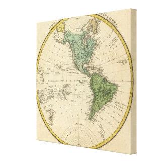 Western Hemisphere 4 Canvas Print