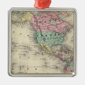 Western Hemisphere 4 Christmas Ornament