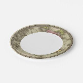 Western Hemisphere 4 Paper Plate