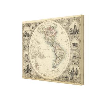 Western Hemisphere 5 Canvas Print