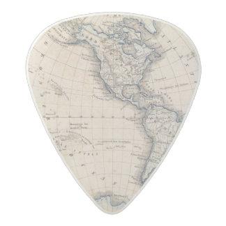 Western Hemisphere 6 Acetal Guitar Pick