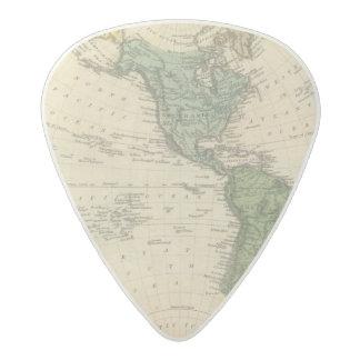 Western Hemisphere 7 Acetal Guitar Pick