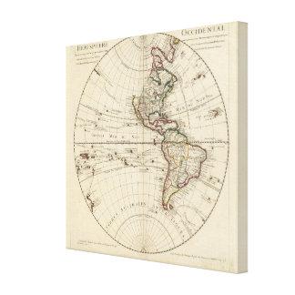Western Hemisphere 7 Canvas Print