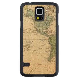Western Hemisphere 7 Carved Maple Galaxy S5 Case
