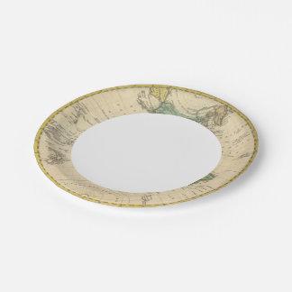 Western Hemisphere 7 Paper Plate