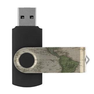 Western Hemisphere 7 USB Flash Drive