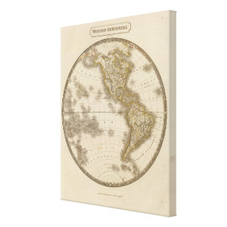 Western Hemisphere 8 Canvas Print