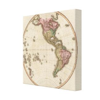 Western Hemisphere 9 Canvas Print