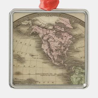 Western Hemisphere 9 Christmas Ornament