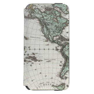 Western Hemisphere Atlas Map Incipio Watson™ iPhone 6 Wallet Case