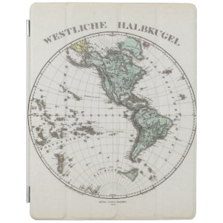 Western Hemisphere Atlas Map iPad Cover