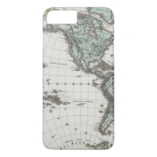 Western Hemisphere Atlas Map iPhone 8 Plus/7 Plus Case
